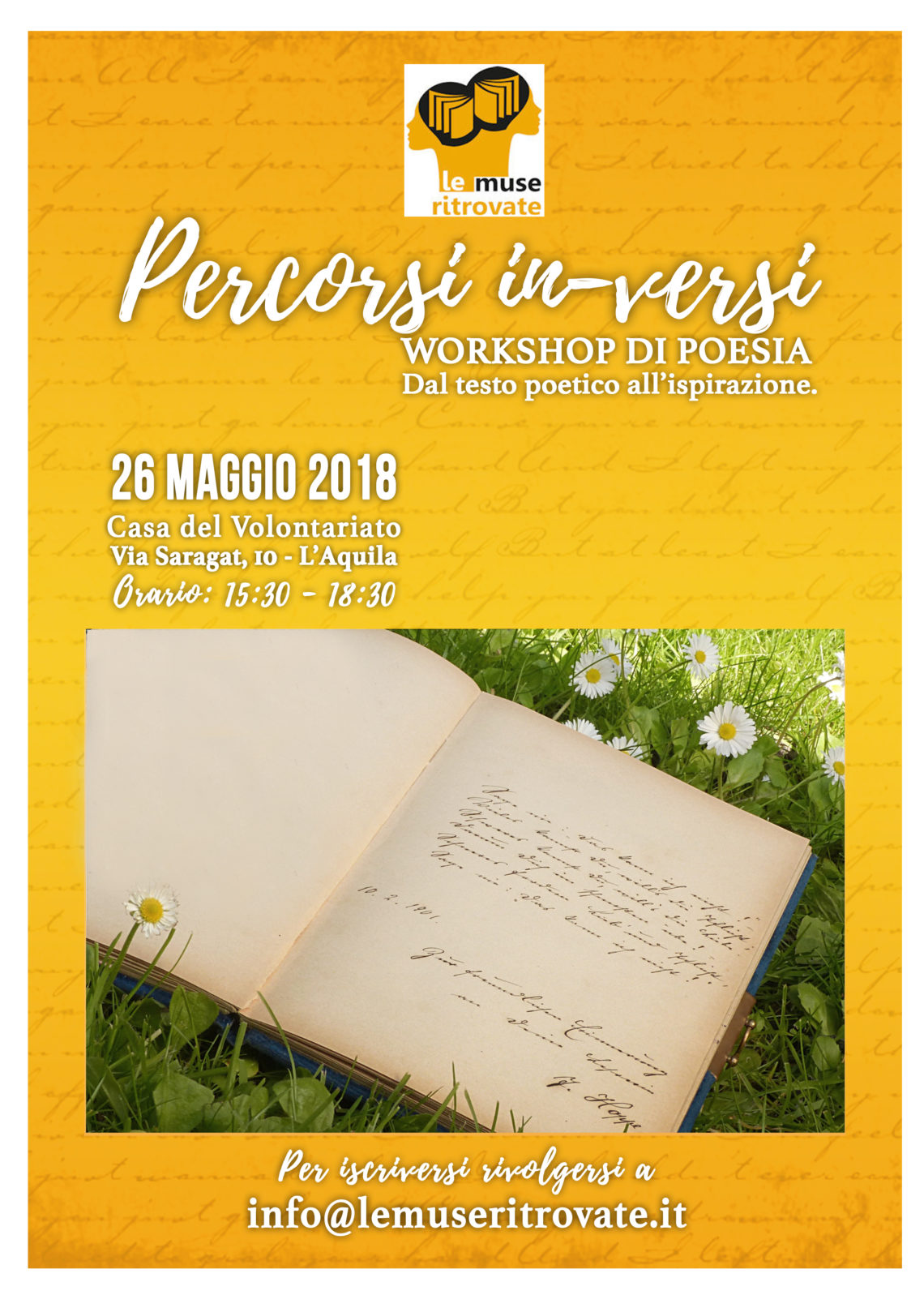 Workshop di poesia – Percorsi in-versi